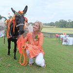 Joanna Caldwell and Kate the donkey